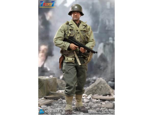 DID 1/6 A80145 WWII US 2nd Ranger Battalion Ser. 3 - Captain Miller_ Box Set _DD112Z