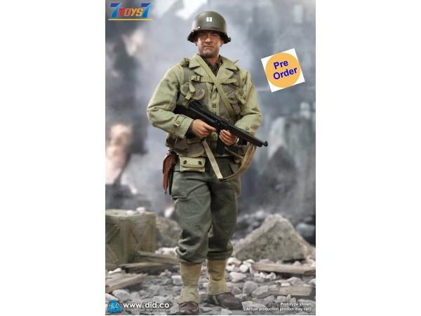 [Pre-order deposit] DID 1/6 A80145 WWII US 2nd Ranger Battalion Ser. 3 - Captain Miller_ Box Set _DD112Z