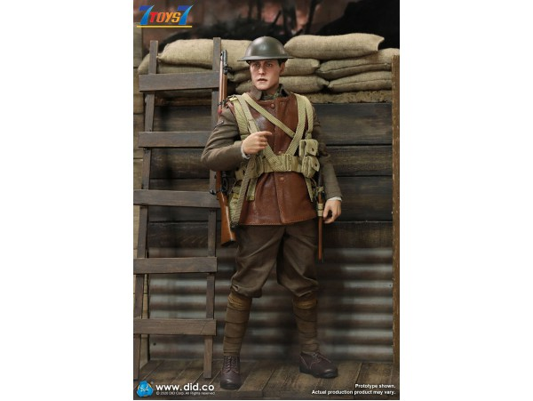 DID 1/6 B11011 WWI British Infantry Lance Corporal - William_ Box Set _DD114Z