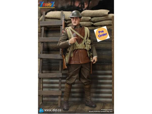 [Pre-order deposit] DID 1/6 B11011 WWI British Infantry Lance Corporal - William_ Box Set _DD114Z