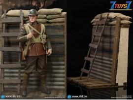 DID 1/6 B11011 WWI British Infantry Lance Corporal - William + Trench Diorama_ Box Set _DD114Y