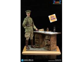 [Pre-order deposit] DID 1/6 WWI British Officer - Colonel Mackenzie & War Desk Diorama_ Set _DD123Y