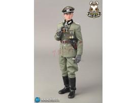 DID 1/6 Tiger Ace - Otto Carius_ Box Standard Ver. _tank commander WWII DD074Y