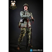 DID 1/6 3rd Panzer Division MG34 Gunner - Alois_ Box Set _German WWII DD079Z