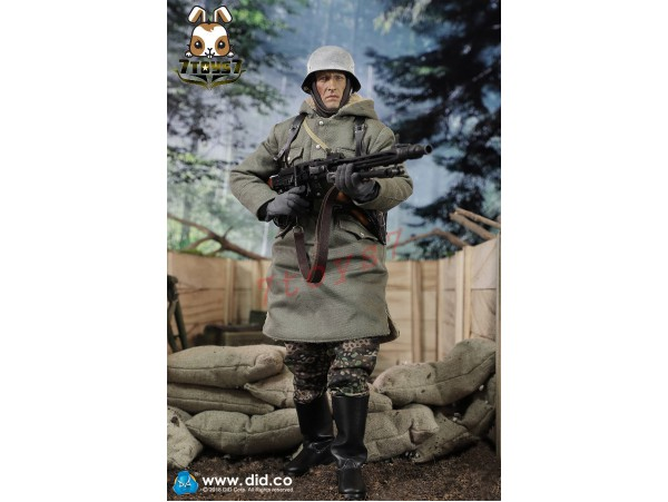 DID 1/6 D80130 Panzer Division Das reich MG42 Gunner A - Dustin_ Box Set _Now DD090Z