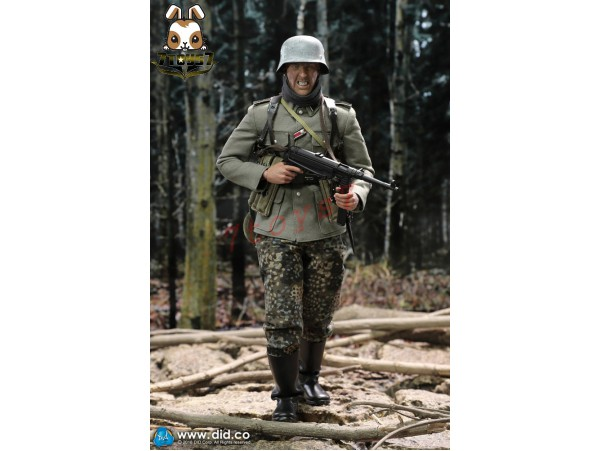 DID 1/6 D80131 Panzer Division Das reich MG42 Gunner B - Egon_ Box Set _German WWII DD092Z