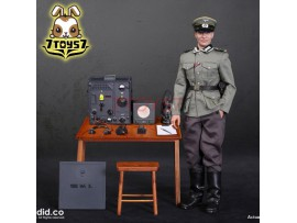 DID 1/6 D80133 WWII German Communication 3 WH Radio Operator - Gerd_ Box Set _DD094Z