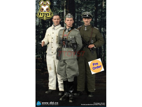 [Pre-order] DID 1/6 D80137 SS Obersturmbannfuhrer Kurt Meyer_ Box Set _DD099Z