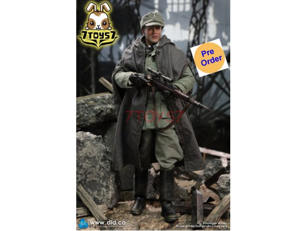 [Pre-order] DID 1/6 D80138 Battle of Stalingrad 1942 Major Erwin Konig: 10th Anniversary_ Box Set _DD102Z
