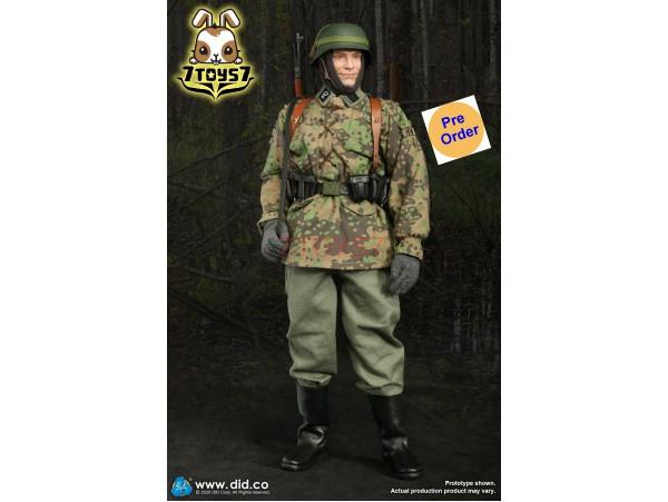 [Pre-order deposit] DID 1/6 D80142 20th Waffen Grenadier Div Radio Operator A: Dennis_ Box Set _DD106A