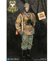 [Pre-order deposit] DID 1/6 D80143 20th Waffen Grenadier Div Radio Operator B: Matthais_ Box Set _DD106B
