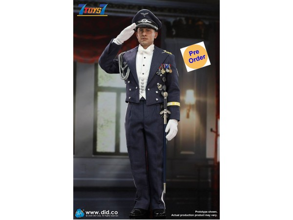 [Pre-order deposit] DID 1/6 D80147 WWII German Luftwaffe Captain - Willi_ Box Set _DD115Z