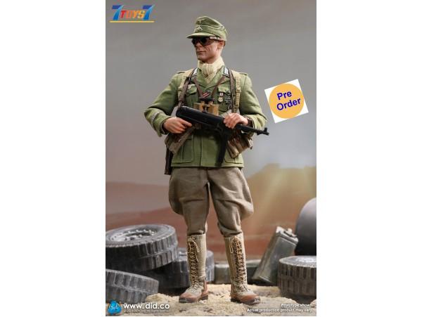 [Pre-order deposit] DID 1/6 D80151 WWII German Afrika Korps Infantry Captain - Wilhelm_ Box Set _DD125Z