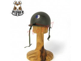 DID 1/6 US 29th Infantry Division Radio Operator - Paul_ Helmet _WWII Now DD073F