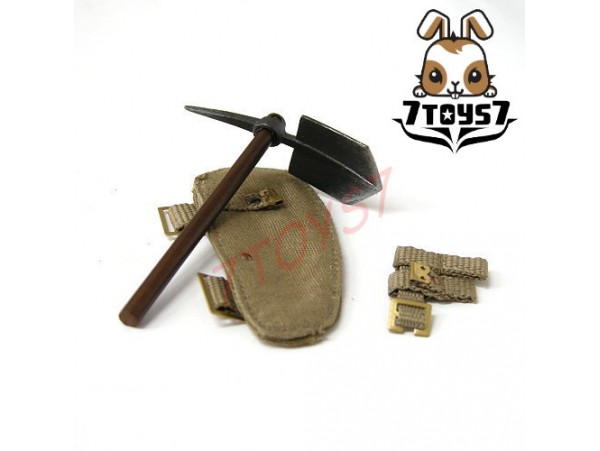 DID 1/6 B11001 Albert Brown-British Infantry_ Entrenching tools _WWI NOW DD025Q