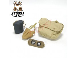 DID 1/6 F11003 Pascal Dubois_ Gas mask + Goggle + canister + shoulder bag_DD030J