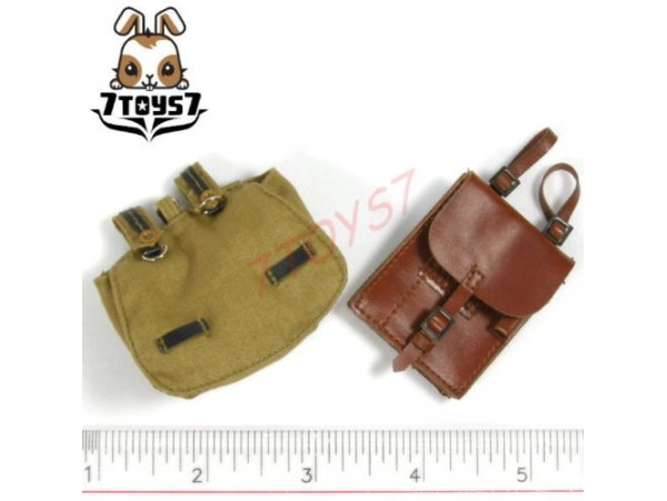 DID 1/6 Hermann Hanke_ Map Case + Pouch _German WWII DD013I
