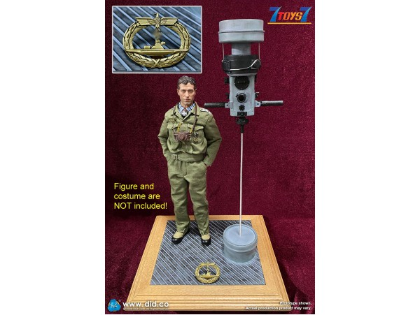 DID 1/6 E60058 - WWII German U-Boat Periscope Diorama_ Set _DD111Y