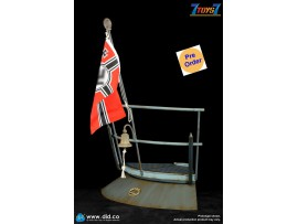 [Pre-order deposit] DID 1/6 E60059A WWII German U-Boat Conning Tower Gun Deck Diorama_ Deluxe Set _DD119Y