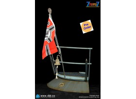 [Pre-order deposit] DID 1/6 E60059A WWII German U-Boat Conning Tower Gun Deck Diorama_ Deluxe Set _DD119Y