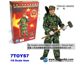 DID 1/6 M50002 People's Armed Police Force - PAP Rescue_ Box Set _China DDX99Z
