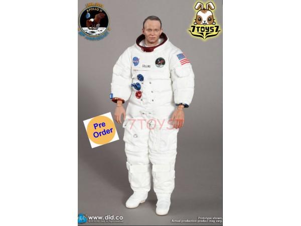 DID 1/6 NA003 Apollo 11 Astronauts - Command module pilot Michael Collins_ Box Set _DD100C