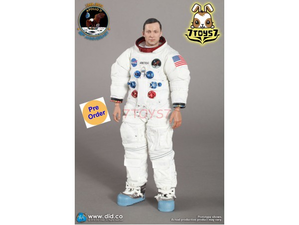DID 1/6 NA001 Apollo 11 Astronauts - Commander Neil Armstrong_ Box Set _DD100A