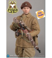 [Pre-order] DID 1/6 R80139 Battle of Stalingrad 1942 Vasily Grigoryvich Zaytsev: 10th Anniversary_ Box Set _Clean Ver DD101Y