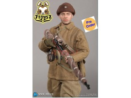 [Pre-order] DID 1/6 R80139 Battle of Stalingrad 1942 Vasily Grigoryvich Zaytsev: 10th Anniversary_ Box Set _Clean Ver DD101Y