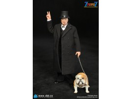 DID 1/12 XK80002 PALM HERO Prime Minister of UK - Winston Churchill_ Box Set _DD110Z