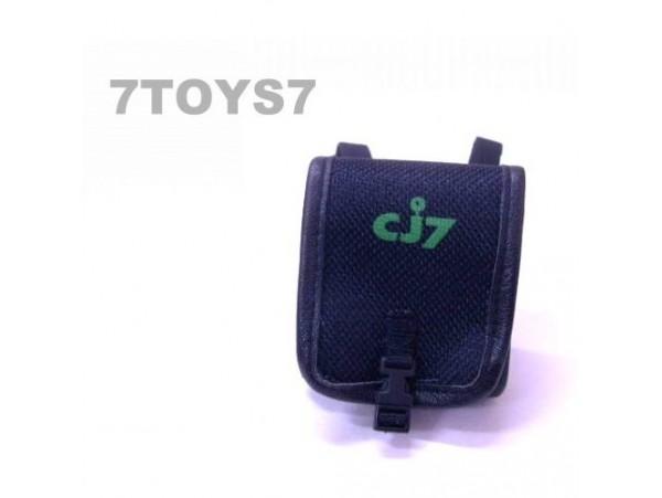 DID 1/6 CJ7_ Black Student School Bag/ Backpack _Movie DDX91C
