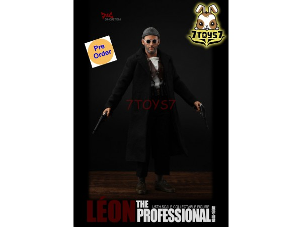 [Pre-order] DJ-Custom 1/6 The Profession Leon_ Box Set _(Two heads) ZZ179A