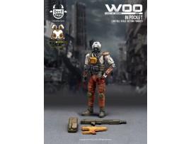 [Pre-order] Devil Toys 1/18 WOO in Pocket - Secret Trooper (sand color)_ Figure Set _DL011B