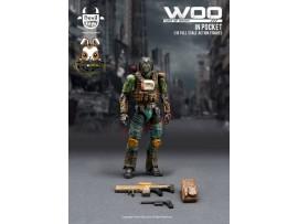 [Pre-order] Devil Toys 1/18 WOO in Pocket - Secret Master (green color)_ Figure Set _DL011A