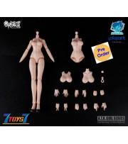 Eastern Model 1/12 A.T.K. Girl Naked body_ Set _DMS015Y
