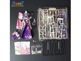 Eastern Model 1/12 Arachne_ Accessories and Kimono Set _Yolopark DMS009E