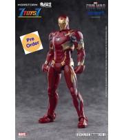 [Pre-order deposit] Eastern Model x Morstorm Iron Man MK46 - PLAMO Normal Version_ Model Kit _Yolopark DMS017Z