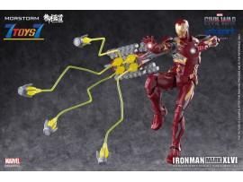 Eastern Model x Morstorm Iron Man MK46 - PLAMO Normal Version_ Model Kit _Yolopark DMS017Z