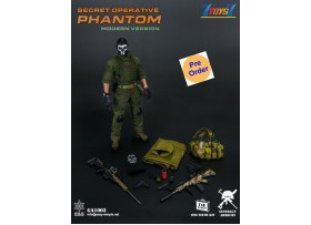 [Pre-order deposit] Easy&Simple 1/6 Secret Operative Phantom (Modern Version)_ Box Set _EE024Z