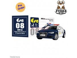 [Pre-order] Era Car 1/64 AUDI A8 - Taiwan Police Car 27_ Diecast Model Car _ER003A