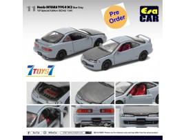 [Pre-order deposit] Era Car 1/64 11 Honda Integra Type-R DC2_ Blue Gray Die-cast Model Car _ER016B