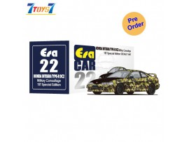 [Pre-order deposit] Era Car 1/64 22 Honda Integra Type-R DC2_ Military Camouflage 1st Special Edition Die-cast Model Car _ER016D