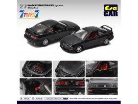 Era Car 1/64 27 Honda Integra Type-R DC2_ Light Black Die-cast Model Car _ER022B