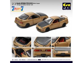 Era Car 1/64 27 Honda Integra Type-R DC2_ Matte Copper (1st Sp Edition) Die-cast Model Car _ER022A