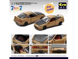 [Pre-order deposit] Era Car 1/64 27 Honda Integra Type-R DC2_ Matte Copper (1st Sp Edition) Die-cast Model Car _ER022A