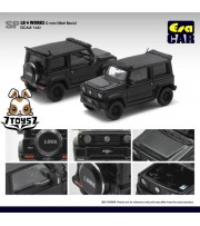 Era Car x Liberty Walk 1/64 LB Works - Suzuki G mini SP Edition (Matt Black)_ Diecast Model Car _ER011C