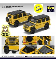 [Pre-order deposit] Era Car 1/64 24 Mercedes-Benz AMG G63_ Yellow Die-cast Model Car _ER014A