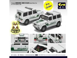 [Pre-order deposit] Era Car 1/64 24 Mercedes-Benz G-Class_ Dubai Police Car Die-cast Model Car _ER015B