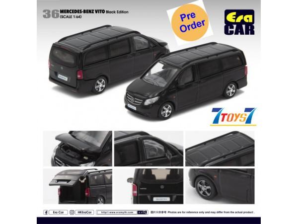[Pre-order deposit] Era Car 1/64 Mercedes-Benz Vito_ Black Die-cast Model Car _ER019A