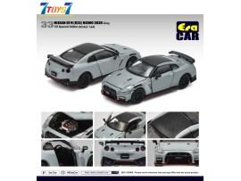 Era Car 1/64 33 Nissan GT-R(R35) Nismo 2020 Gray 1ST Special Edition_ Die-cast Model Car _ER021E